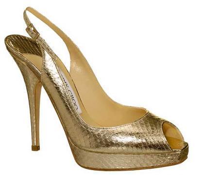 Clue, zapatos únicos de Jimmy Choo