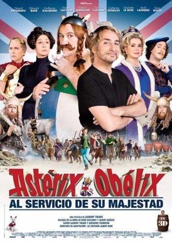 El póster español de Astérix y Obélix al Servicio de su Majestad