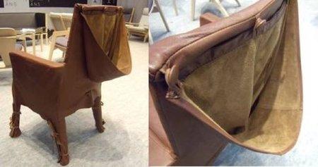 Una mala idea: una funda de asiento con capucha
