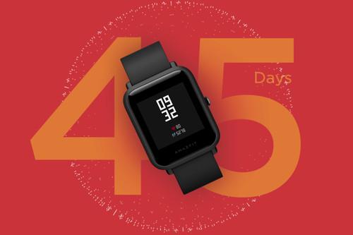 El Amazfit Bip Lite es uno de los smartwatches superventas de Xiaomi, y está rebajadísimo en Phone House: 34,99 euros