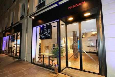 Nissan Electric Café, paga tu bebida favorita ¡pedaleando!