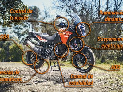 No los ves, pero eston son los 7 sistemas de seguridad activa te pueden salvar la vida en moto