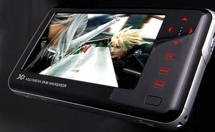 Viliv X2, PMP con GPS