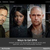 Crece la oferta de streaming televisivo: Epix Now ya está disponible en los dispositivos basados en Android TV