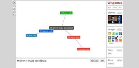 WisdoMap: mapas conceptuales sencillos con soporte multimedia