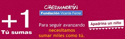 Cibermaratón Fundación Vicente Ferrer, ¡Apadrina!