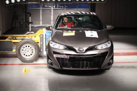 Toyota Yaris Latin Ncap 2019