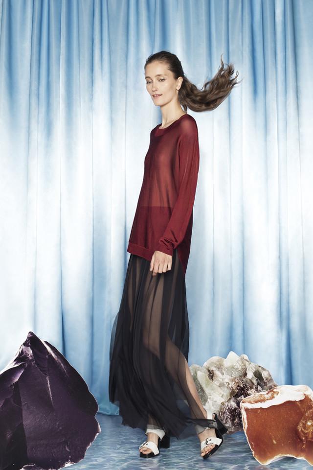 Colección Bimba y Lola Primavera-Verano 2014 Iekeliene Stange faldas largas maxi faldas