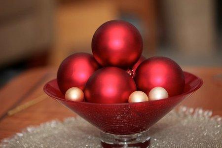 Bolas de centro de mesa