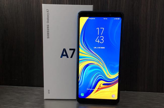 Samsung Galaxy A7 (2018), primeras impresiones: la triple cámara entra en Samsung por la gama media