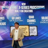 Intel Core X-Series de novena generación: hasta 18 núcleos y 36 hilos de procesamiento