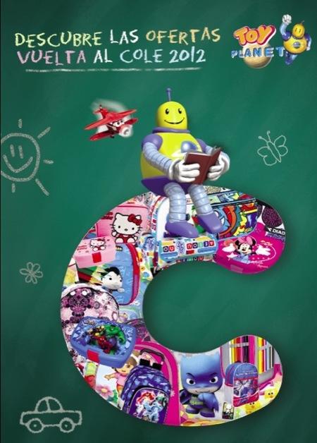 Toy Planet presenta el catálogo de vuelta al colegio 2012