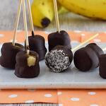 Helados de plátano, chocolate y mantequilla de cacahuete: receta saludable y fácil para el verano
