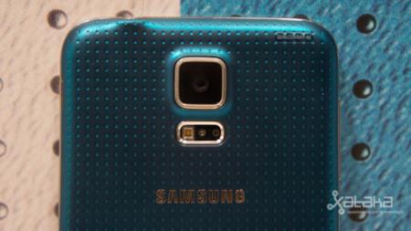 Samsung Galaxy S5 parte trasera