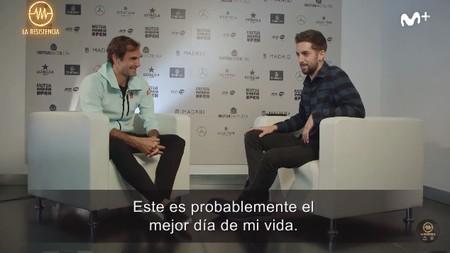 """""""Si necesitas un hígado, allí estaré"""": David Broncano entrevista a Federer y se ofrece hasta como donante de órganos"""