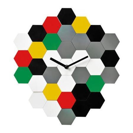 Smycke, un reloj de pared multicolor que puedes modelar a tu antojo