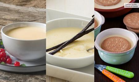 Crema inglesa, crema pastelera y natilla: en qué se diferencian, cómo se elaboran y para qué se usan