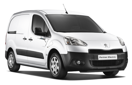Peugeot Partner eléctrica blanco