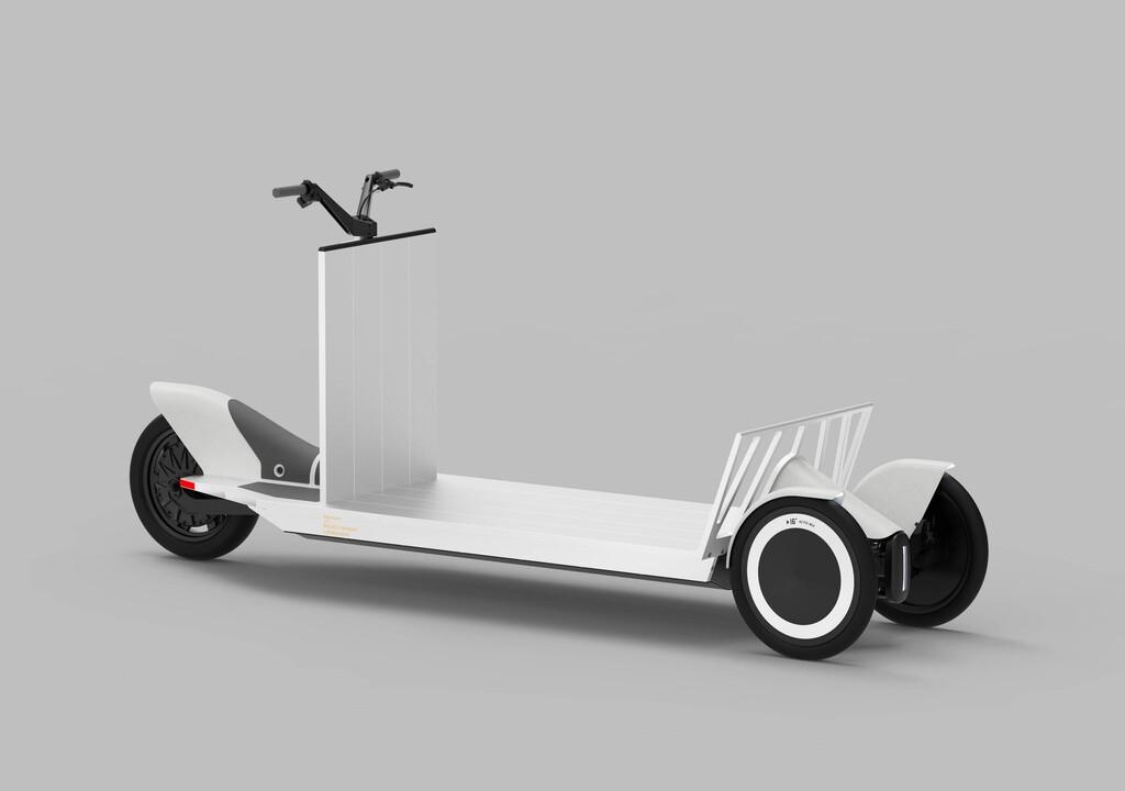 Así es Re:Move, el triciclo eléctrico de Polestar que han diseñado en colaboración con CAKE