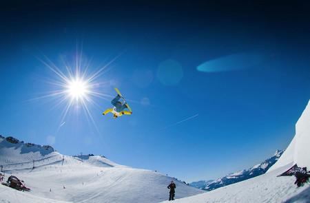 Salto con esquí