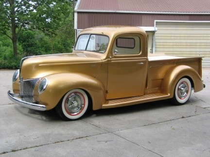 1940 Ford Pickup by FastLane Rod Shop