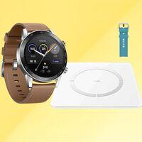 Chollo en Honor: llévate el smartwatch HONOR MagicWatch 2 con otra correa y la báscula conectada HONOR Scale 2 por 129 euros
