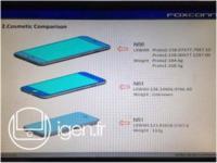 Una filtración de Foxconn muestra dos prototipos de iPhone 6 con diferentes tamaños