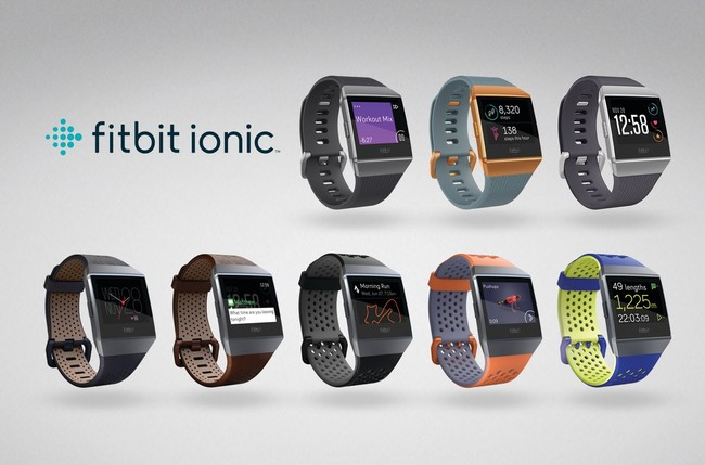 Fitbit Ionic: el primer smartwatch de la firma, con GPS, auriculares inalámbricos y su propio sistema de pagos