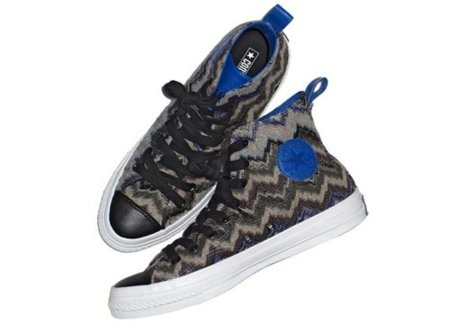Missoni y Converse: zapatillas Chuck Taylor para este otoño 2011