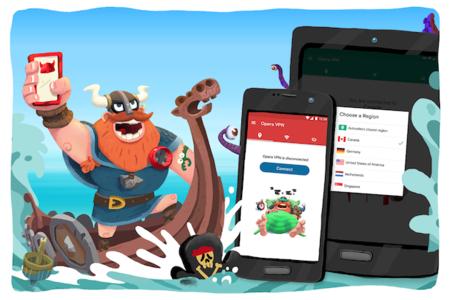 Opera VPN por fin llega a Android después de algunos meses de espera