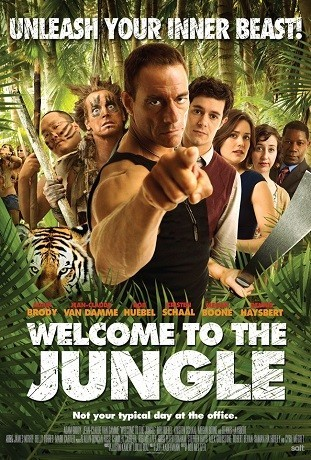'Welcome to the jungle', tráiler y cartel de la comedia con Jean-Claude Van Damme
