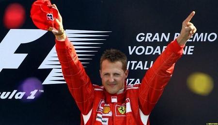 Schumacher…¿en vías de recuperación?