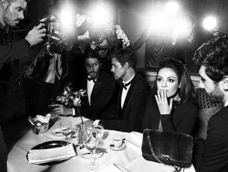 ¿Es Jackie O. Kennedy? No querida, es Mila Kunis para Miss Dior