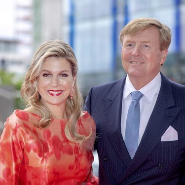 Máxima de Holanda también falla, así es su último look en Dublín con un vestido un tanto trasnochado