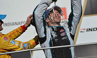 Simon Pagenaud triunfa en la primera intentona rutera de la IndyCar en Indianápolis