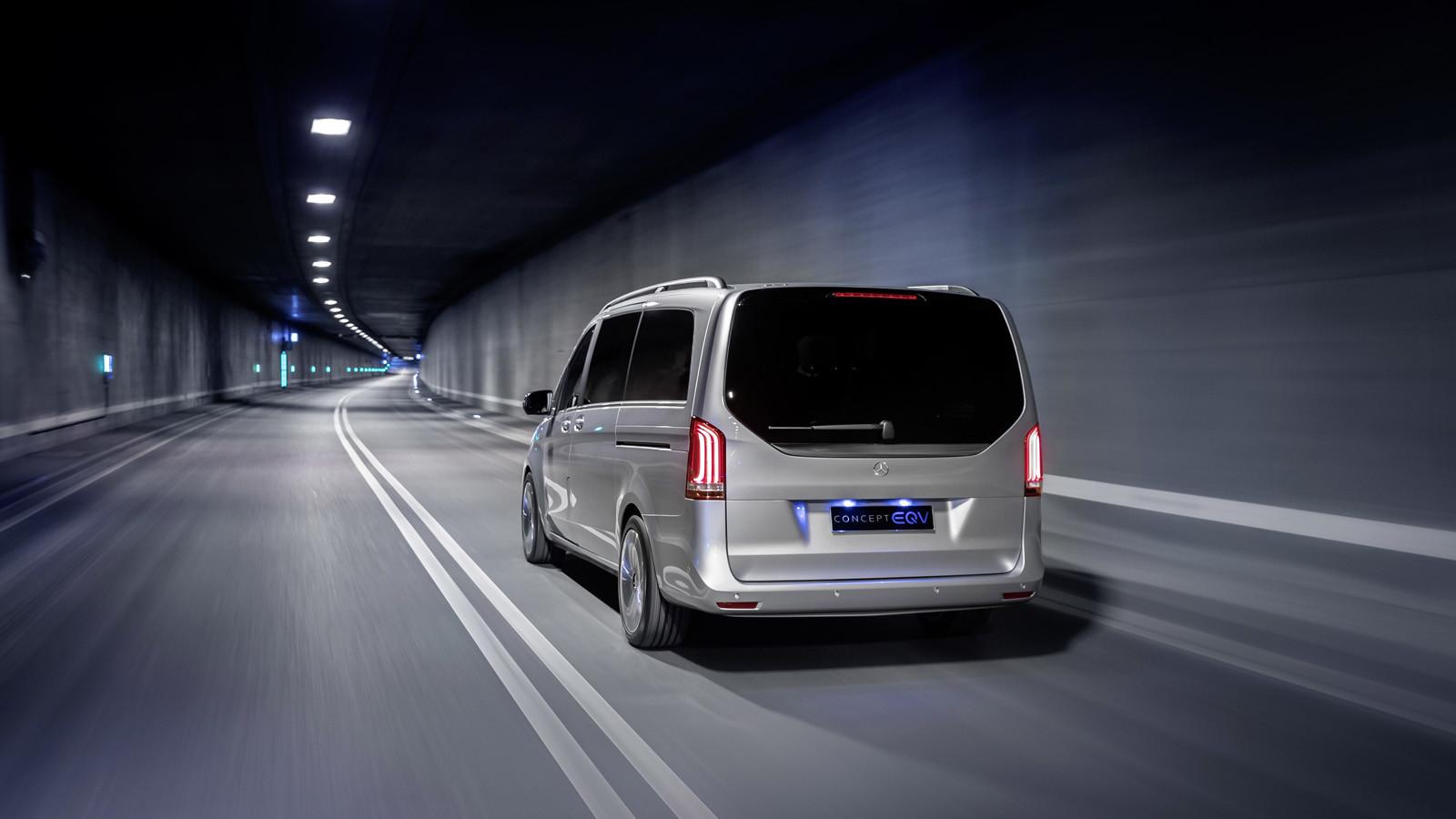 Foto de Mercedes-Benz Concept EQV (2/14)