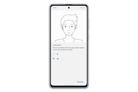 Samsung Galaxy Note10 Lite Biometria Recon Facial