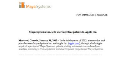 Apple adquiere 18 patentes de Maya-systems ¿mejoras en la gestión de archivos?
