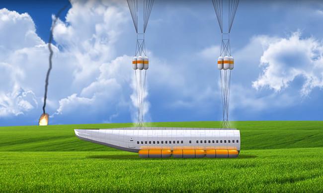Detachable Cabin Plane Crash Aircraft