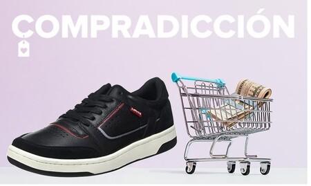 Chollos en tallas sueltas de  zapatillas Tommy Hilfiger, Levi's o Lacoste en Amazon