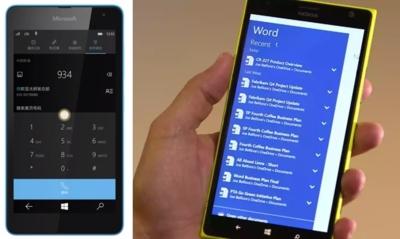 Windows 10 para móviles tendrá soporte para impresoras y marcado inteligente