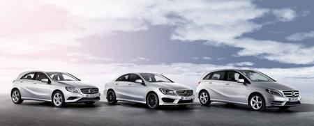 Mercedes-Benz Clase A, CLA y B