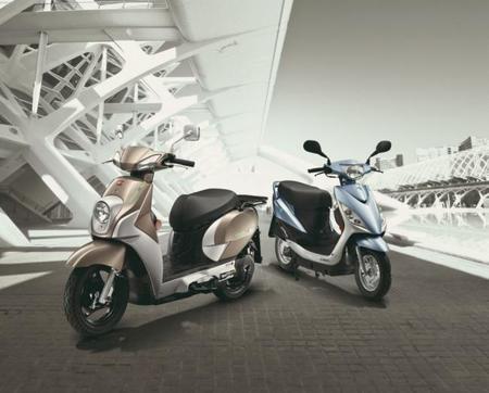 Kymco presenta dos nuevas scooter eléctricas