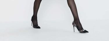 Palabrita de Zara: los zapatos de fiesta de punta fina y las sandalias de strass serán las estrellas de las Navidades