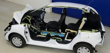 HybridAir de Peugeot-Citroën, aire comprimido aplicado a la hibridación, en vídeo