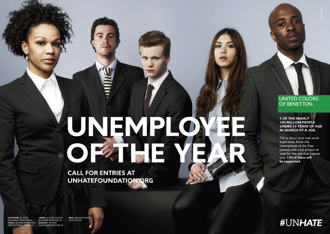 Foto de Benetton - Unemployee of the year (17/18)