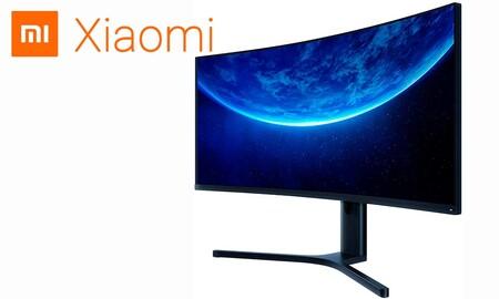 El monitor gaming curvo de Xiaomi cuesta mucho menos en eBay con el cupón PXIAOMI15: lo tienes por 419 euros