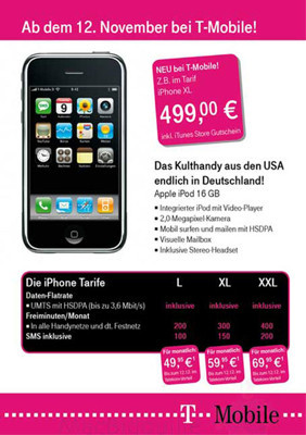 Más rumores sobre la distribución del iPhone