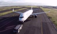 Así es sobrevolar con un drone el Aeropuerto Internacional Benito Juárez de la Ciudad de México