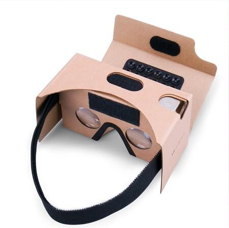 Gafas de Realidad Virtual Google Cardboard SPLAKS 3D VR Gafas de Realidad Virtual V2